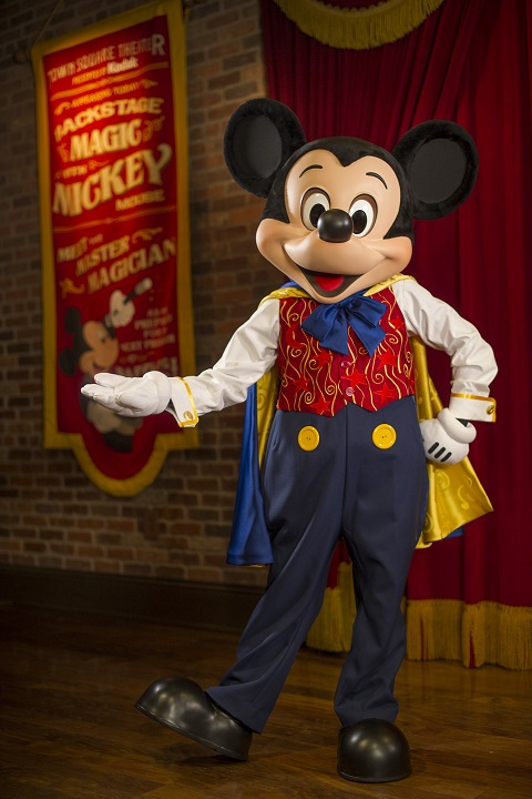 Meet and Chat with Mickey Mouse at Town Square Theater in Magic Kingdom Park