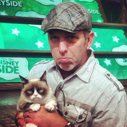 Grumpy Cat, Whit Honea, Disney, Disney Side, #DisneySide, photo, pic