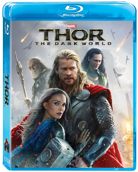 Thor Dark World 2D BD art