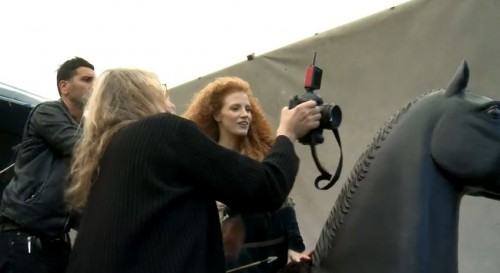 liebovitz-dream-portrait-merida-chastain-disney