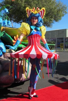 Circus Tent inspired costume from Finale