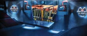 Tony Stark's Workshop Concept Art from Marvel Universe LIVE!