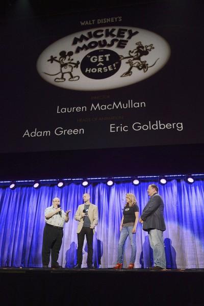 "D23 Expo discusses ""Get A Horse"""