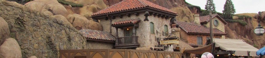 Prince Eric's Village still has one walled off area. I wonder what's back there.
