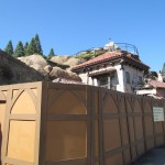 Still some walls up on Prince Eric's Village