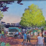 New concept art for Food Truck park on the Westside