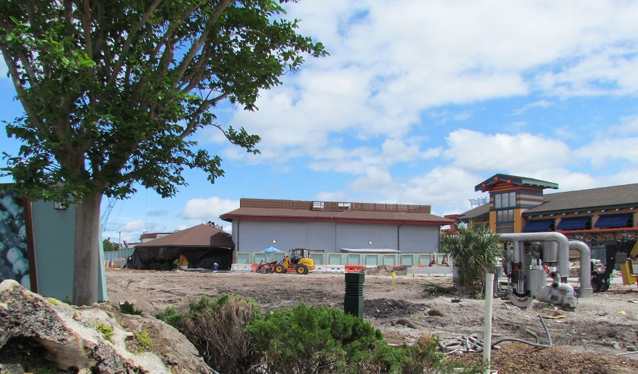 The old McDonald's location is totally gone