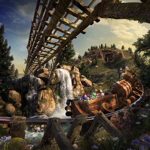 DisneyMines_MineTrain_FinalPrint-poster