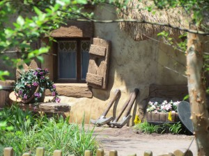 Details make the magic on the Dwarfs Cottage