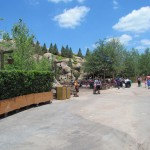 Yep, Snow White mountain is forest covered