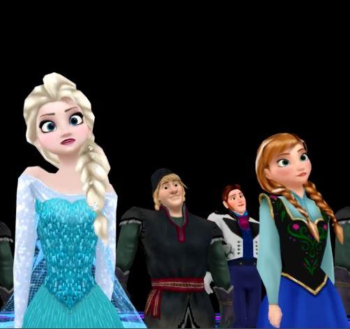 Frozen Mmd Thriller The Disney Blog