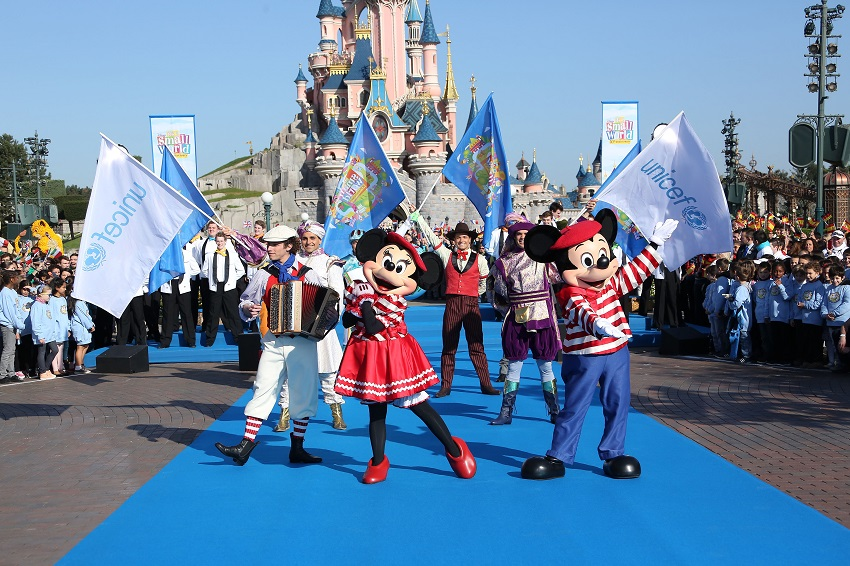 Disneyland Paris Celebrates 50th Anniversary of its a small world during Global Sing-Along at Disney Parks