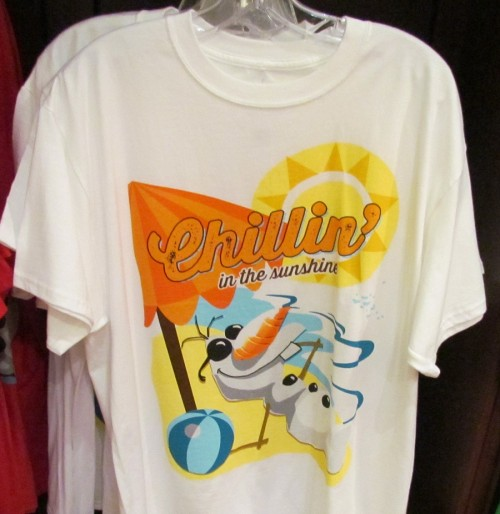 One Frozen shirt available at Walt Disney World