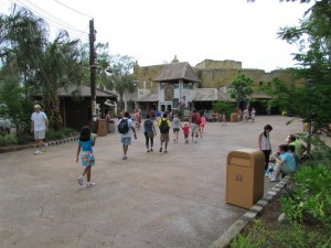 Entrance to the Harambe Village expansion