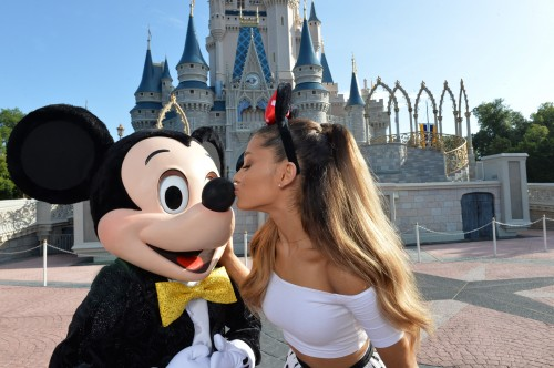 SINGER ARIANA GRANDE CELEBRATES 21ST BIRTHDAY AT WALT DISNEY WORLD IN FLORIDA