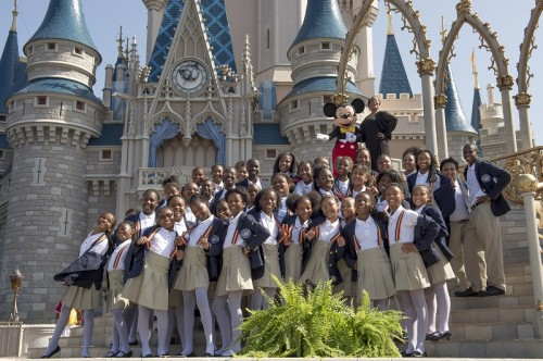 Detroit Student Choir Fulfills Dream of Performing at Walt Disney World Resort