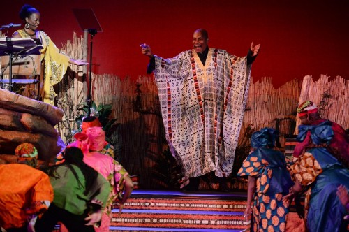 Avery Brooks Narrates 'Harambe Nights' at Disney's Animal Kingdom