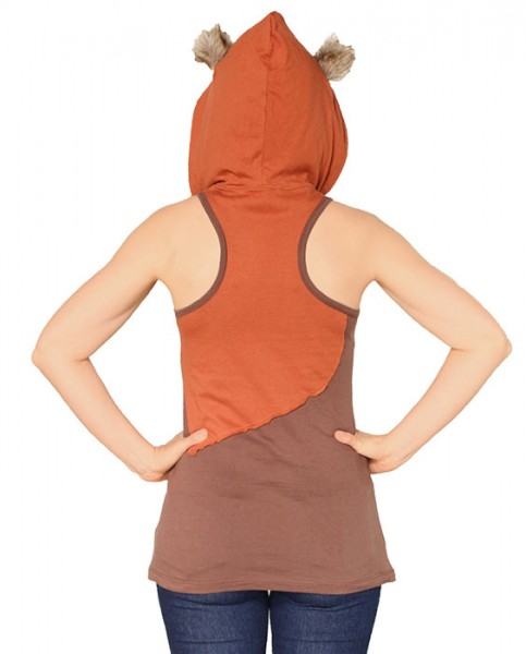 thinkgeek-ewok_ladies_hooded_tank_top_back