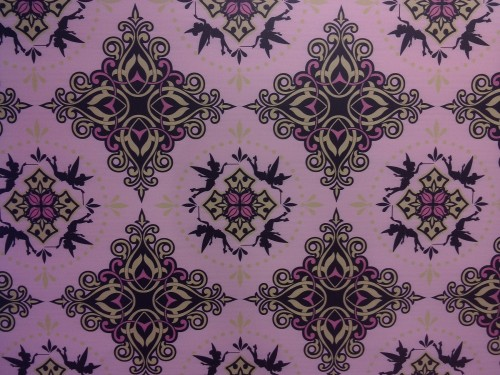 A fun tinkerbell pattern on the walls. The original on the link is large enough for a desktop background if you want
