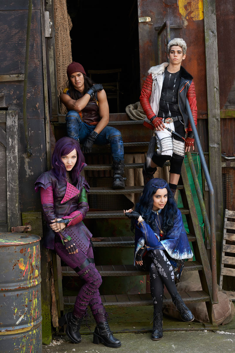 disney's descendants characters - HD 801×1200