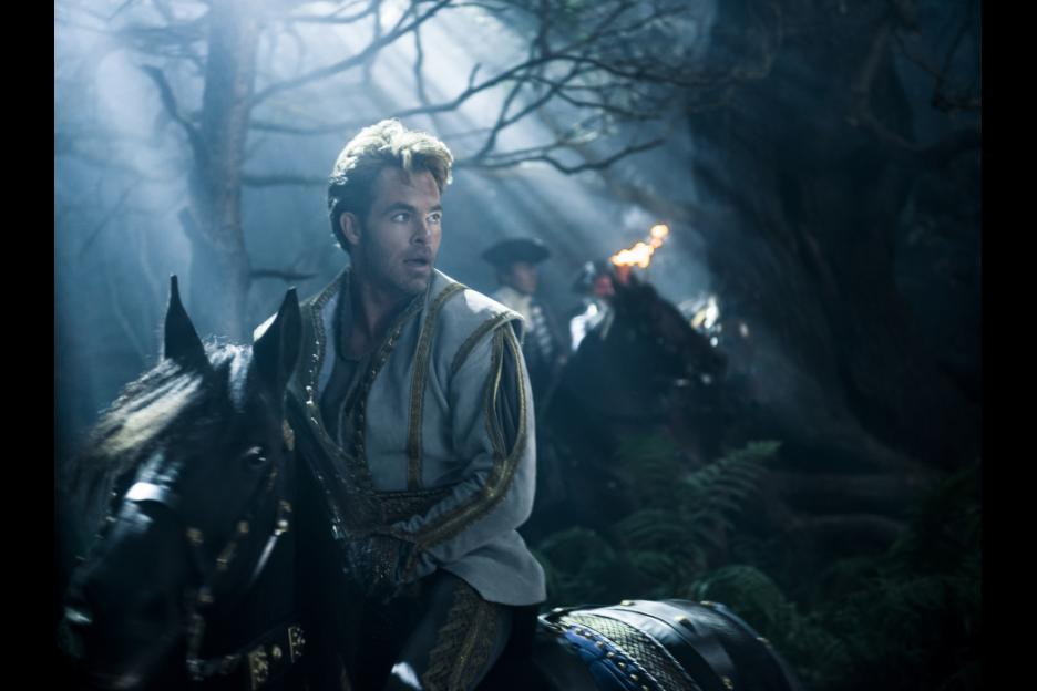 Chris Pine as Prince Charming