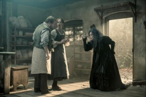 The baker and his wife meet the witch