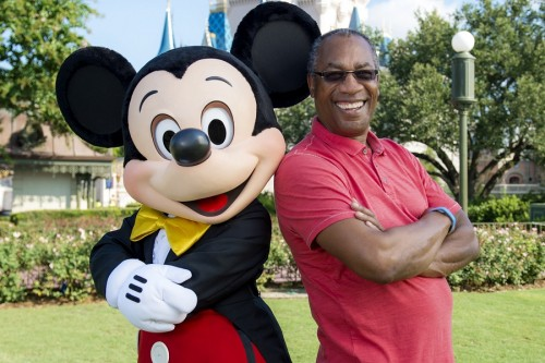 EMMY-NOMINATED ACTOR JOE MORTON AT DISNEY WORLD IN FLORIDA