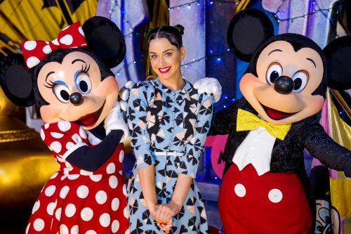 KATY PERRY SPENDS 4TH OF JULY AT DISNEY IN FLORIDA