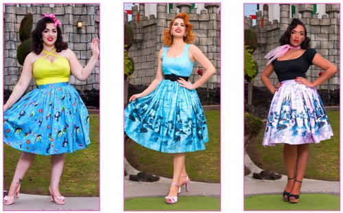 pinup-fashion-disney-trio