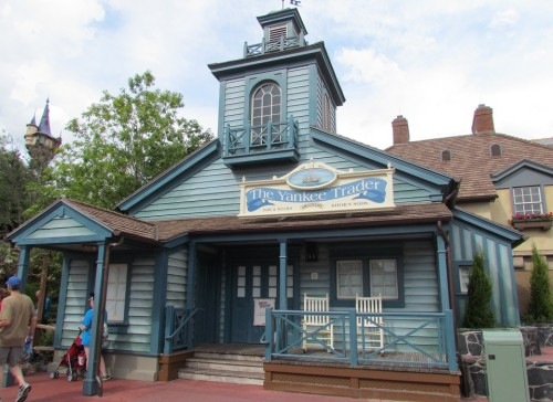 Yankee Traders will reopen as a Haunted Mansion themed shop after a brief refurbishment