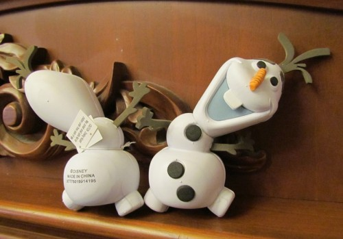 Lastly, new Olaf Antenna Toppers at Main Street Emporium