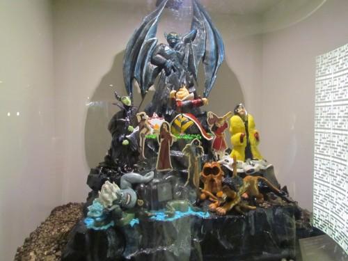 Villains sculpture