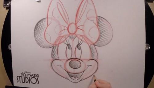 draw-minnie-mouse