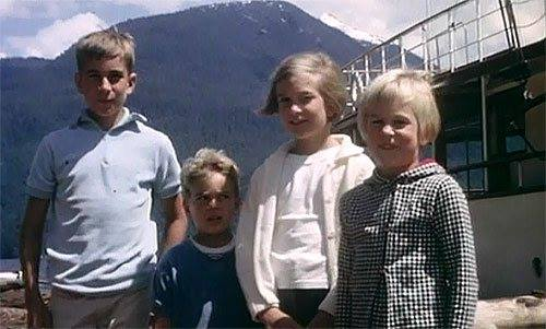 Four of the Miller children pose for Grandpa during a Disney family vacation trip to Vancouver. Copyright Disney Enterprises, Inc. All rights reserved