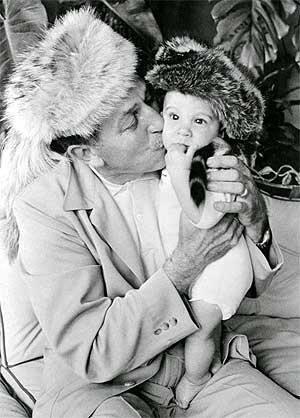 Walt and grandson Chris Miller