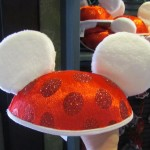 New xmas Mickey Mouse Ears