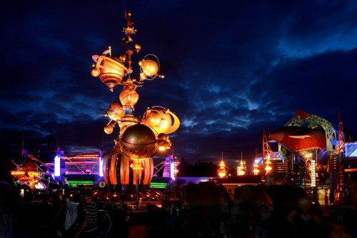 Dark clouds over Tomorrowland