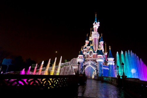 Disneyland Paris Castle Show