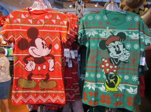More Ugly Christmas Sweater T-shirts, plus more | The Disney Blog
