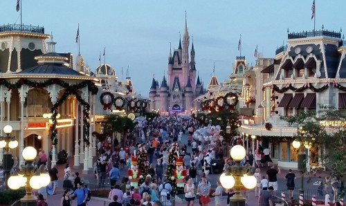 The new look gives you a clear shot of Cinderella Castle from anywhere on Main Street
