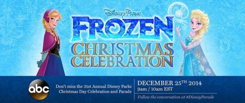Frozen Christmas Special.Disney Parks Christmas Parade Special On Abc Gets Frozen