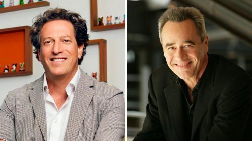 Andrew Millstein (left), Jim Morris (right)
