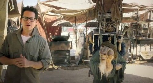 JJ Abrams on Tatooine?