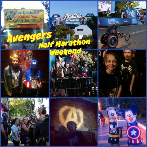 Avengers Half Marathon Weekend at Disneyland Resort