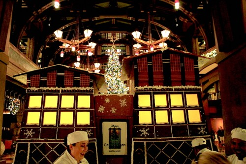 Grand Californian Gingerbread House Chefs