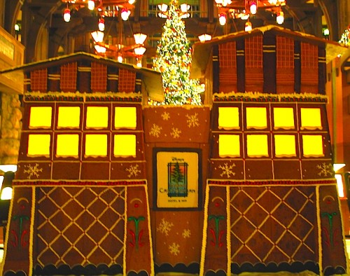 Disney's Grand Californian Hotel Gingerbread House