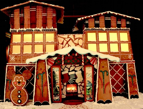 Disney's Grand Californian Gingerbread House