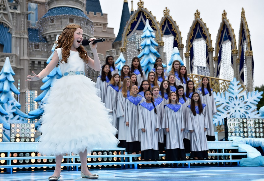 YouTube Sensation Lexi Walker Tapes Disney Parks Frozen Christmas Celebration TV Special