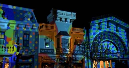 disneyland-60th-main-street-projections