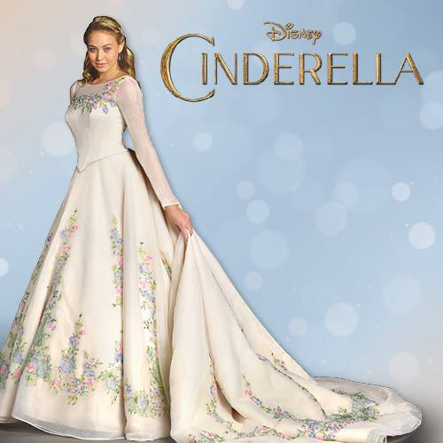 Cinderella weddingdress the disney blog
